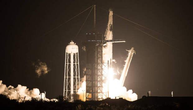 Корабль Crew Dragon с астронавтами отправился на МКС