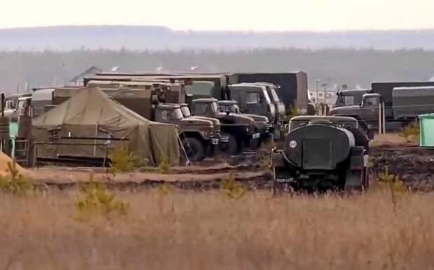 Полевой лагерь под Воронежом как гарантия ненападения на Донбасс