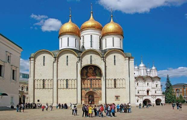 Московский Кремль. Успенский собор