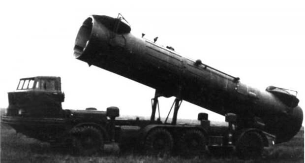 Прототип установки 2П30 комплекса 2К17 на первом варианте шасси история, ссср, факты