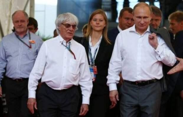 """""""Я бы закрыл его от пули собой"""": Экс-глава """"Формулы-1"""" предложил Путину править всей Европой"""