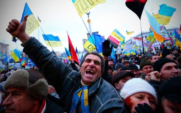 Красные линии возможного раздела Украины?