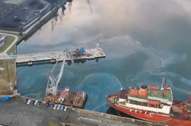 Новое загрязнение: Росприроднадзор оценил площадь нефтяного пятна в Находке