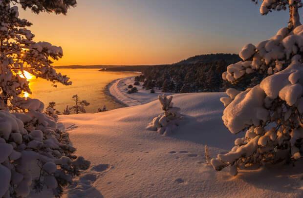 карелия зима путешествие новый год