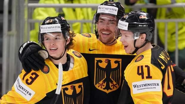 Германия обыграла Латвию и вышла в плей-офф ЧМ с третьего места группы Б