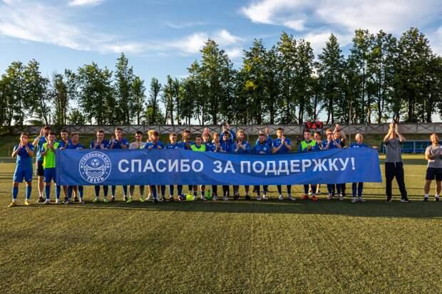 Игорь Руденя поздравил ФК «Тверь» с первыми для Верхневолжья с 2004 года медалями профессиональной футбольной лиги
