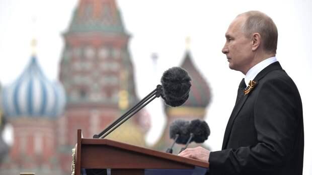 Путин отметил решающую роль советского народа в победе над нацизмом