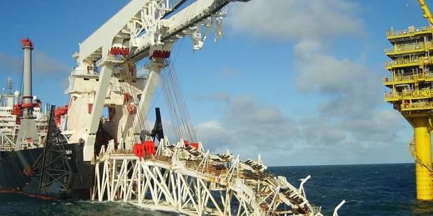 Allseas вывела строившие «СП – 2» суда из Балтийского моря