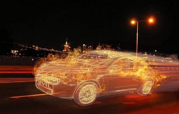 Мистический автомобиль