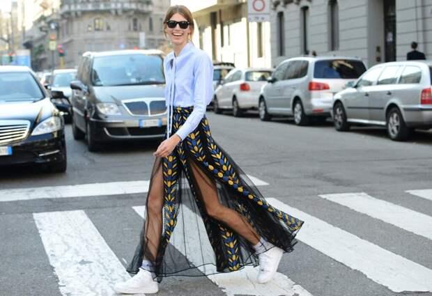 С чем носить длинную юбку летом 2021. Свежие тренды и образы