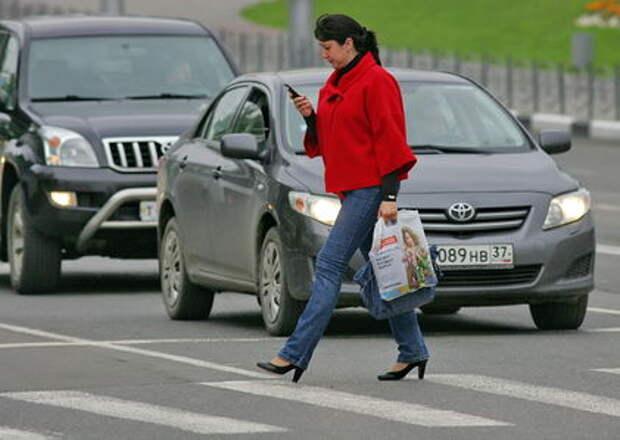 В Госдуме предлагают увеличить штраф для невнимательных пешеходов