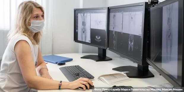 Москва открывает доступ к технологиям на основе ИИ для врачей всей России/Фото: М. Мишин mos.ru
