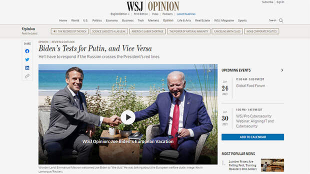 """""""Путин получил от Байдена всё"""": Запад возмущён итогами саммита в Женеве"""