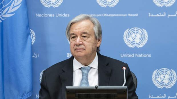 Генсек ООН приветствовал договорённость о перемирии в Карабахе