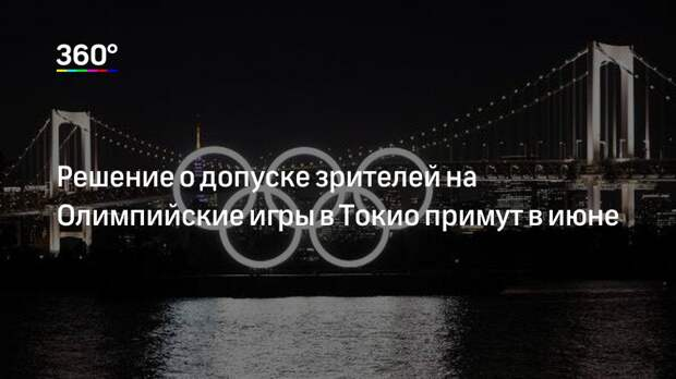 Решение о допуске зрителей на Олимпийские игры в Токио примут в июне