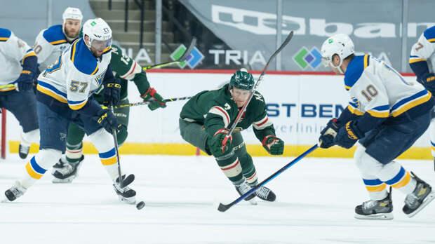 «Сент-Луис» обыграл «Миннесоту» в НХЛ, Барбашёв отметился голом