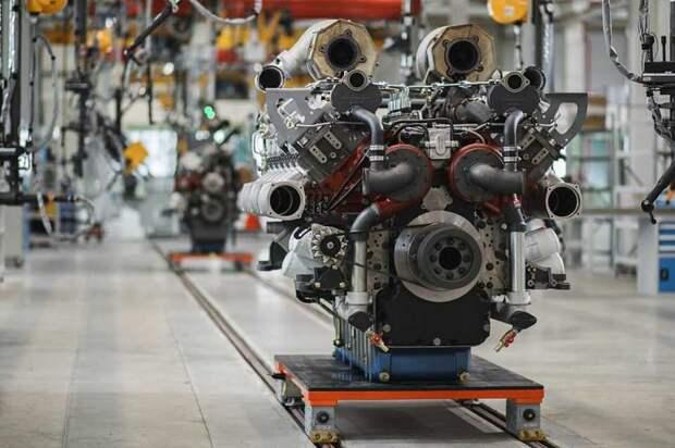 """СП """"КАМАЗа"""" и Weichai запустило производство дизельных и газовых двигателей"""