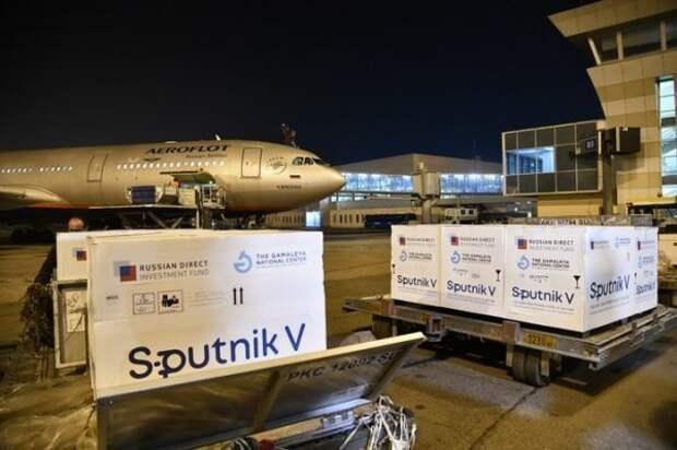 ВУзбекистан прибыла первая партия «Спутника V»