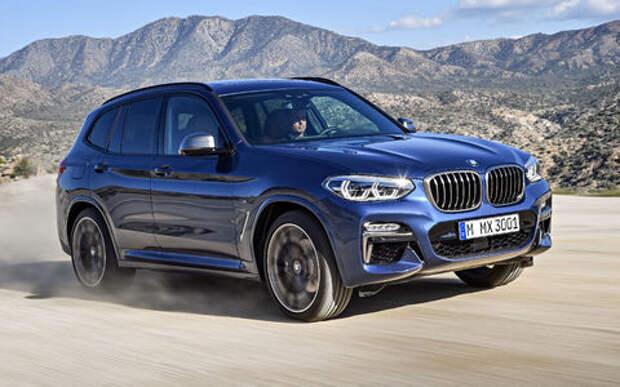 Новый BMW X3 оказался крупнее старого Х5