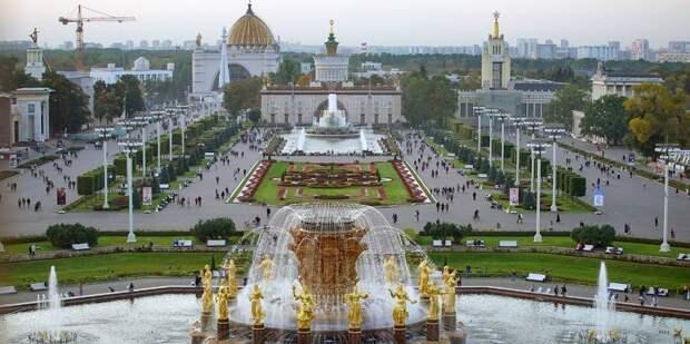 Сергунина рассказала об онлайн-гиде по памятникам архитектуры ВДНХ. Фото: Е.Самарин, mos.ru