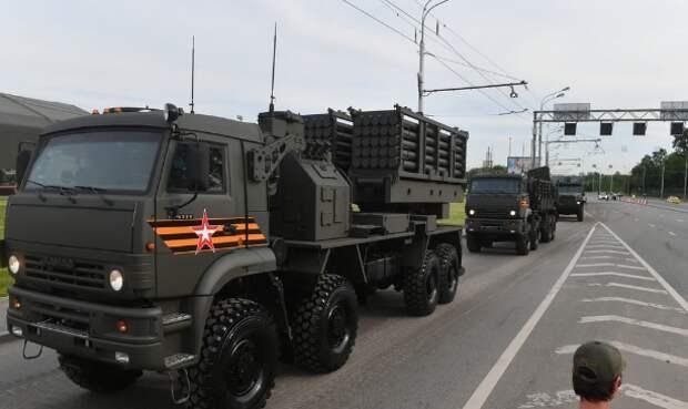 В армии РФ появилась уникальная машина дистанционного минирования