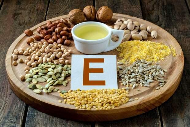 В каких продуктах содержится достаточное количество витамина Е