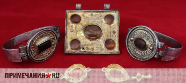 Ученые раскопали в Крыму коллекцию древних драгоценностей