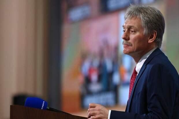 Песков заявил, что Украина испытывает дефицит суверенитета