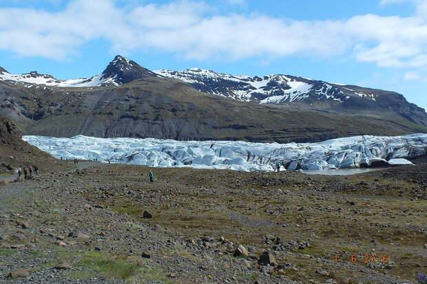 Исландия. День 3. Ледники и лагуны (1.06.16)