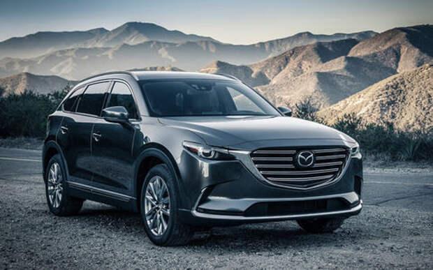 Mazda объявила рублевые цены на кроссовер CX-9