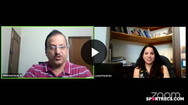 Sports mental conditioning coach Vishwanath is in conversation with sports nutritionist Laxmi Pandrala