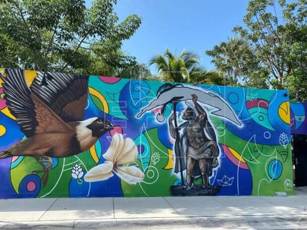 CUBA PROTESTAS - Inaugurarán en Miami un mural con imágenes del levantamiento popular en Cuba