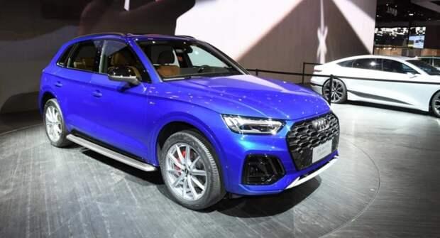Обновленный Audi Q5L появится на рынке в мае