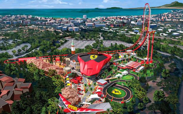 Парк развлечений Ferrari Land: ускоряйтесь!