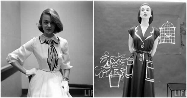 Невероятно актуальные платья от Hermès. Неужели им уже под 70?