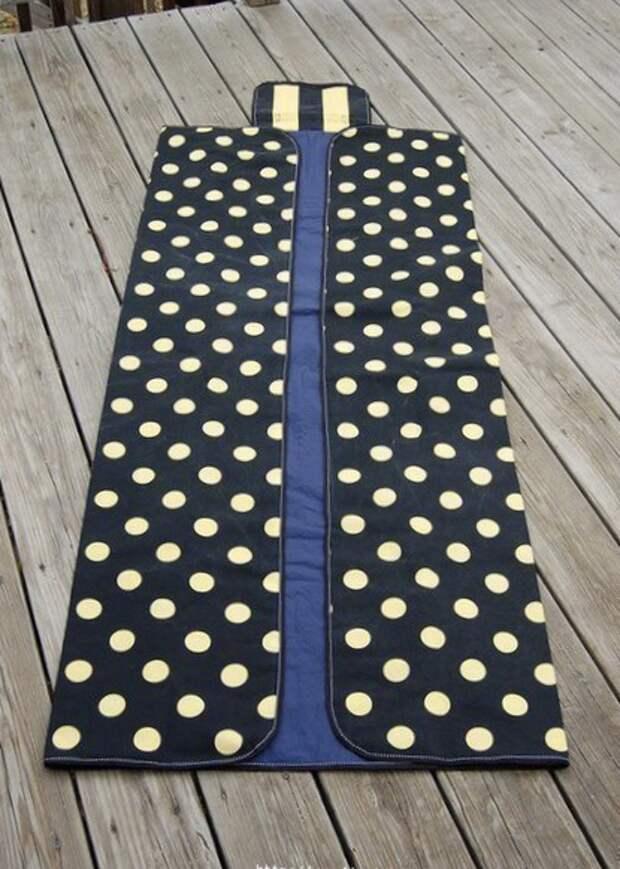 Сумка коврик, сумка одеяло : мастер-класс и выкройка