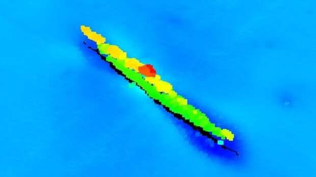 В Северном море обнаружен странный объект, похожий на подлодку