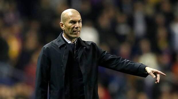 Зидана могут уволить из «Реала» после матчей с «Барселоной» и «Боруссией» М