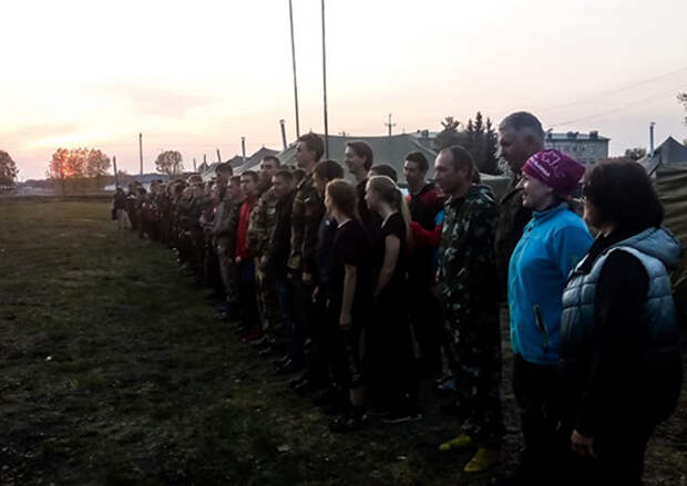 В мотострелковом соединении ЦВО на Алтае стартовала военно-патриотическая игра «Зарница»