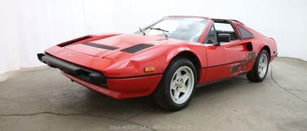 Купил дом вслепую, а в гараже оказался Ferrari 1984 года выпуска Ferrari 308, darn find, ferrari, авто, находка, спорткар, суперкар