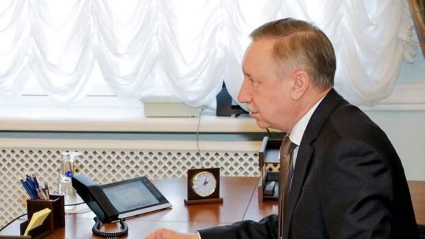 Губернатор Петербурга сообщил о готовности проекта первого этапа строительства ШМСД