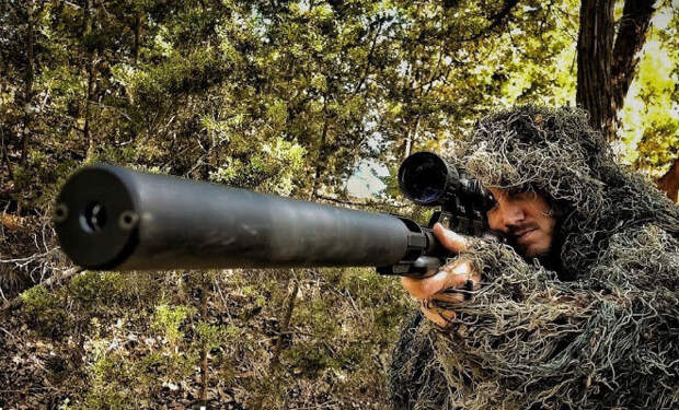 Самая тихая снайперка в мире