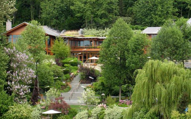 Батутный зал, 18 ванных комнат и конная ферма: что будут делить Билл и Мелинда Гейтс