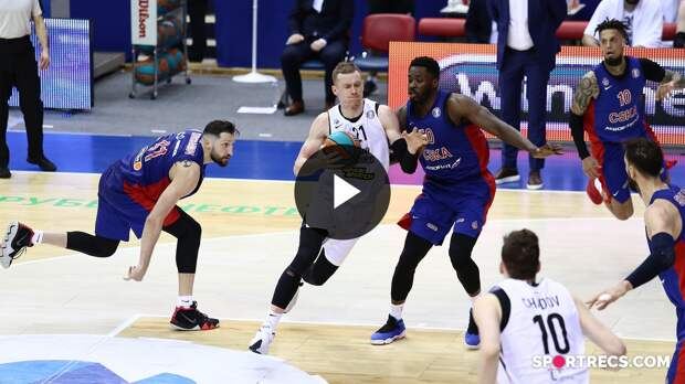 CSKA vs Nizhny Novgorod Condensed Game Quarterfinals Game 3 | Season 2020-21