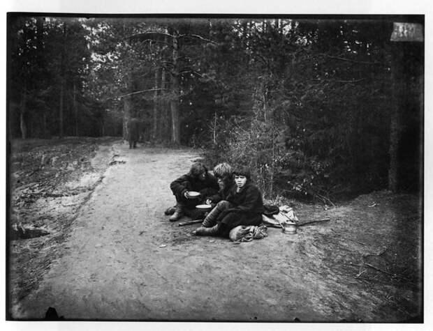 Странники на пути в Саровский мужской монастырь. История в фотографиях, россия