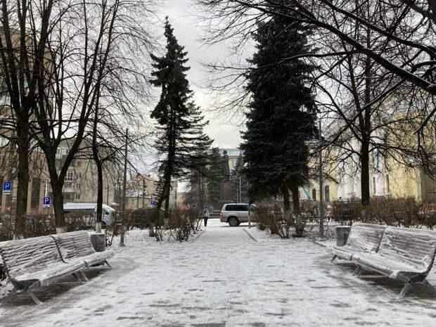 Скверы на улице Степной и около Нацбиблиотеки благоустроили в Ижевске