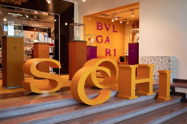 BVLGARI открыл поп-ап бутик в Сочи