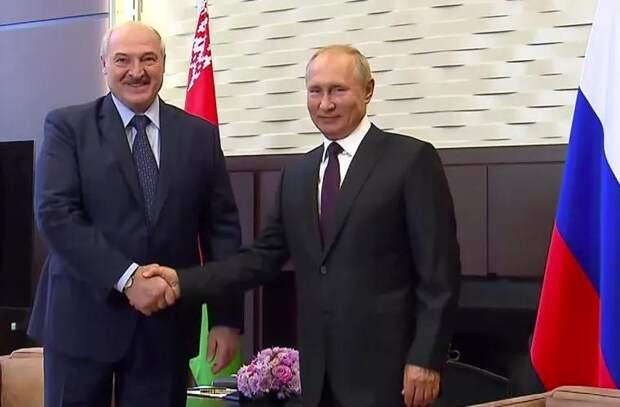 Что Путин и Лукашенко обсудили на встрече в Москве