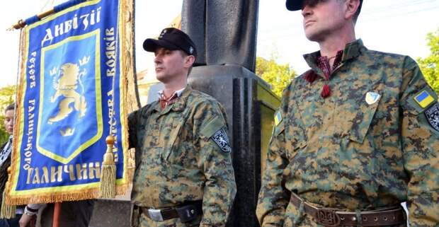 Украина отпраздновала 77-летие дивизии СС «Галичина»