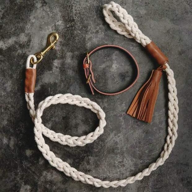 Удивительные поделки для дома из обыкновенной верёвки